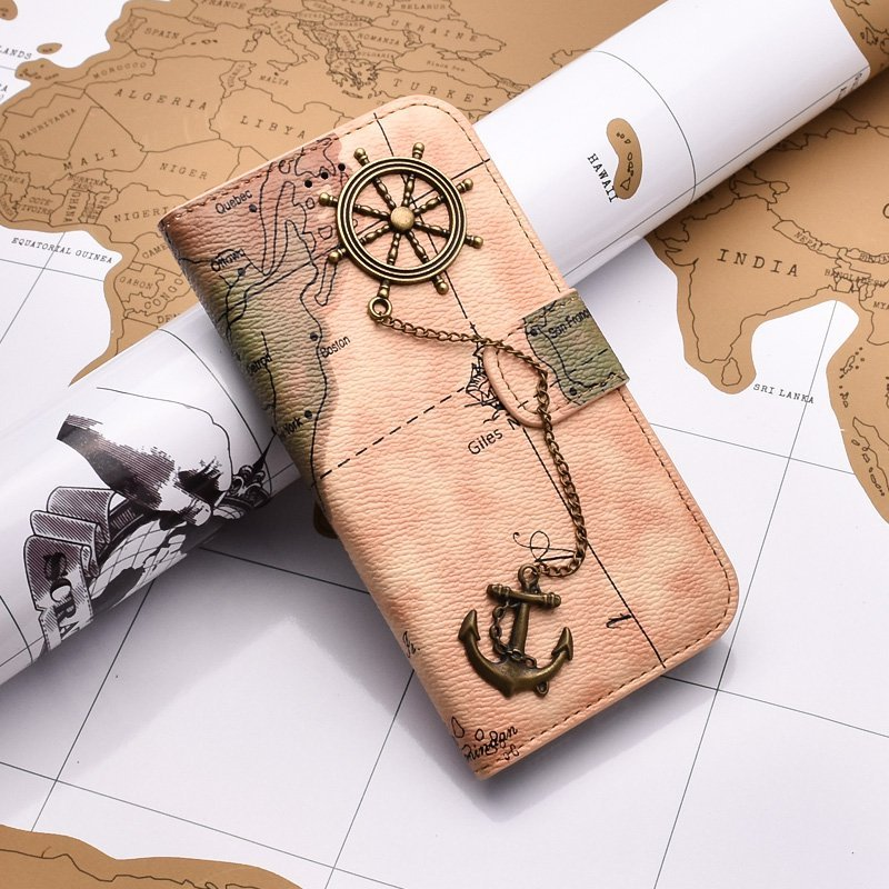 Anchor and Rudder iPhone Wallet Case