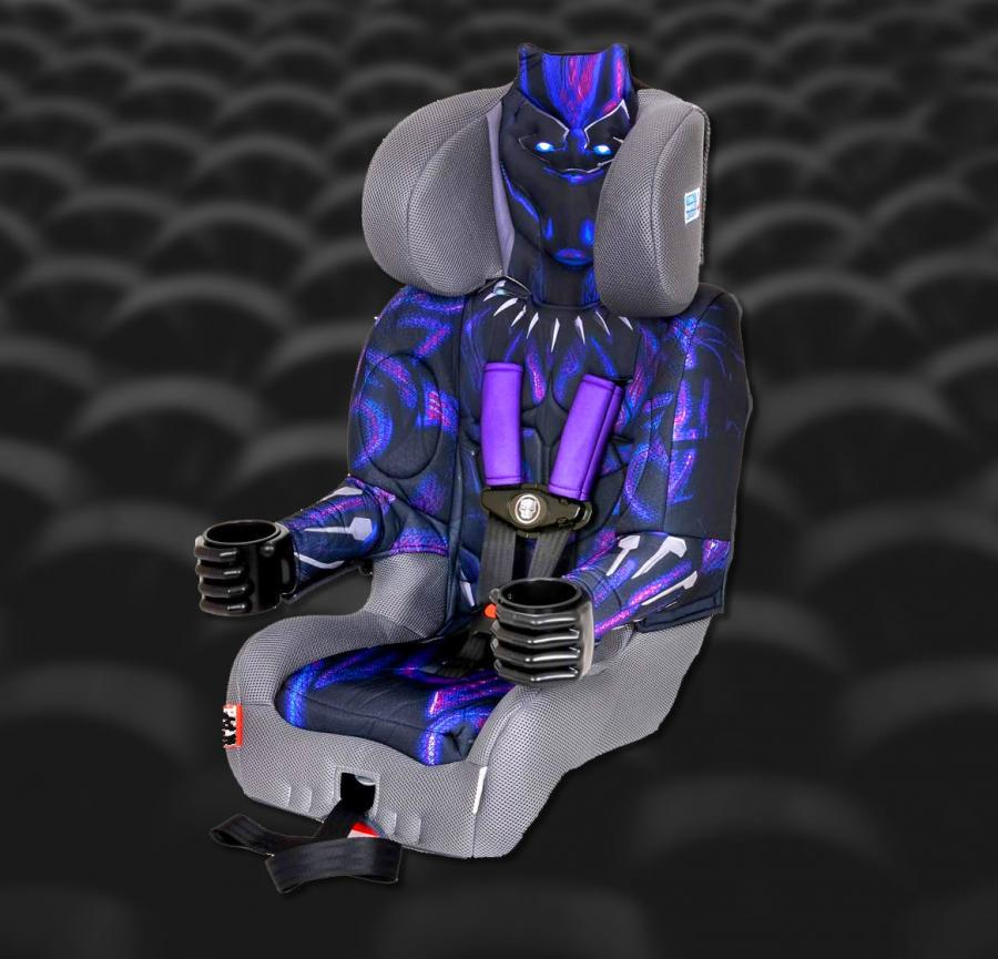 Black Panther Booster Seat Lets Your Kid Become A Superhero