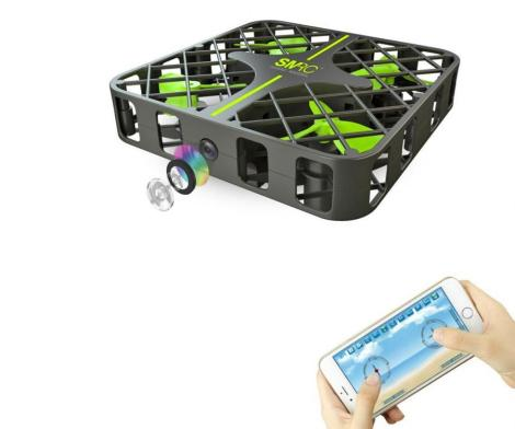 Foldable Caged Mini Drone You Can Control With Your Phone