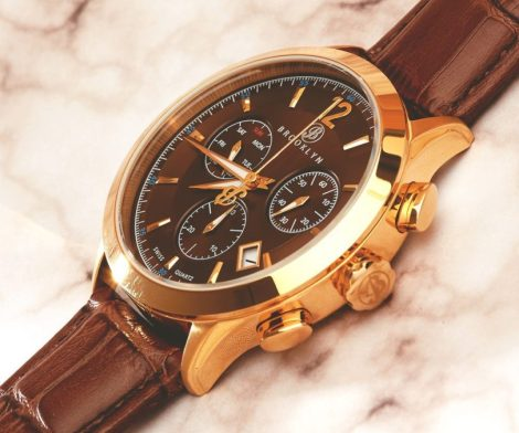 Brooklyn Dakota Swiss Quartz Chronograph Mens Watch