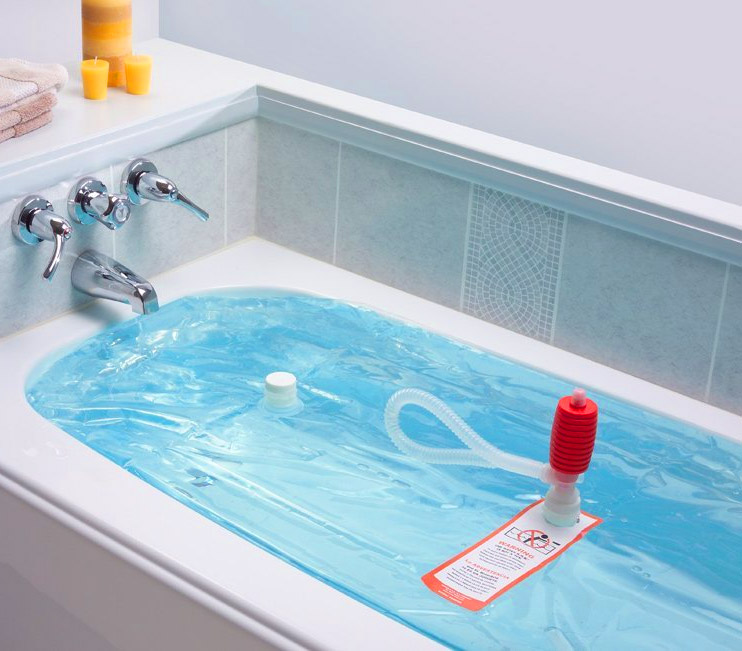 WaterBob Lets You Store Emergency Drinking Water In Your Bathtub