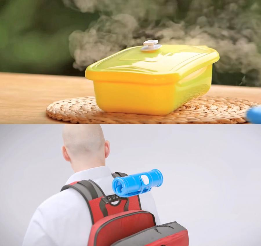Yabul Flameless Silicone Cooker Lets You Cook a Meal Anywhere