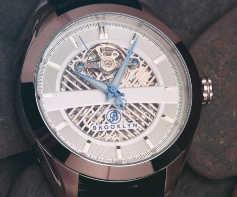 Brooklyn Pierrepont Skeleton Watch