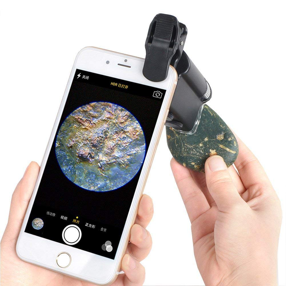 Universal Mobile Phone Microscope