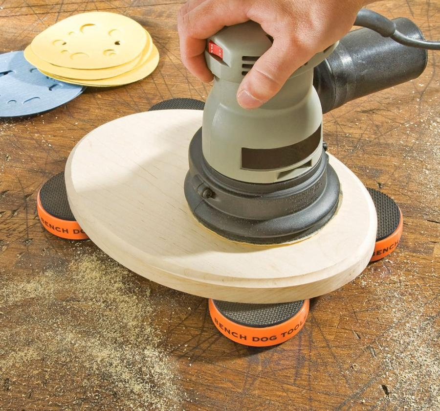 Portable Work Grippers Let You Rout, Sand, Cut and Carve Without Using Clamps