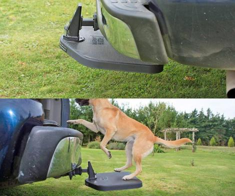 Heininger PortablePET Twistep Dog Hitch Step