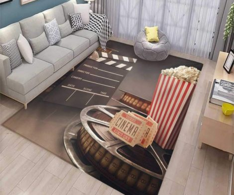 Movie Theater Girls Bedroom Rug