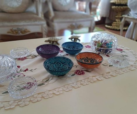 Turkish Decorative Ceramic Bowls