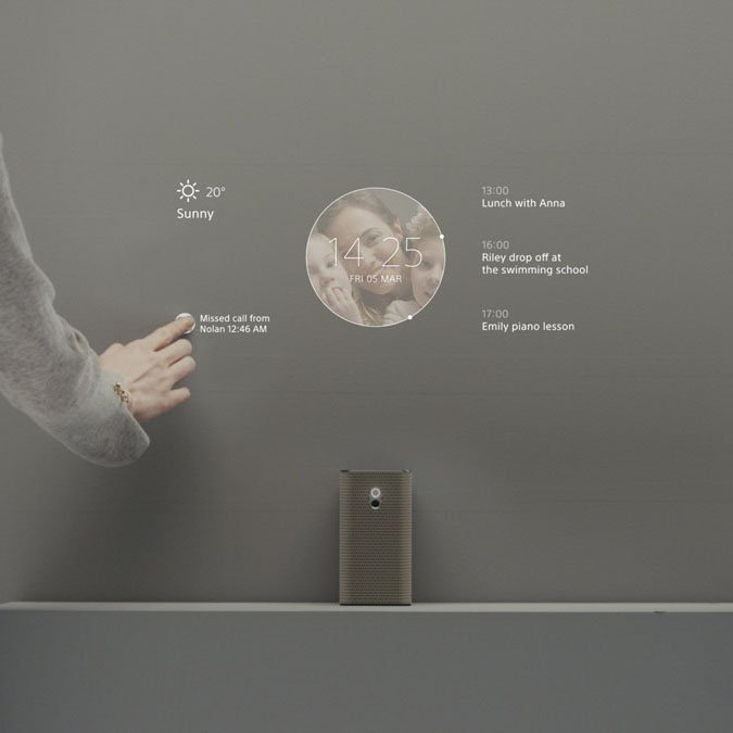Sony Xperia Touch – Android Powered Touch Projector