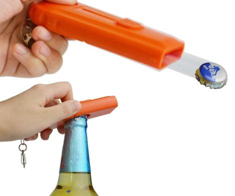 Cap Zappa: A Bottle Opener Cap Launcher