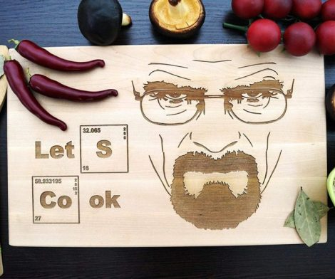 Heisenberg Breaking Bad Cutting Board