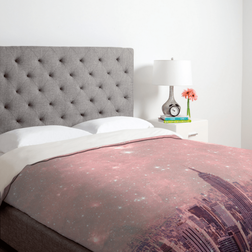 Bianca Green Stardust Covering New York Duvet Cover