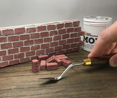 Mini Red Bricks
