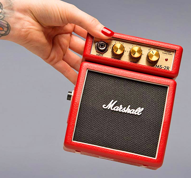 Extra Tiny Marshall Guitar Amp (Battery Powered)