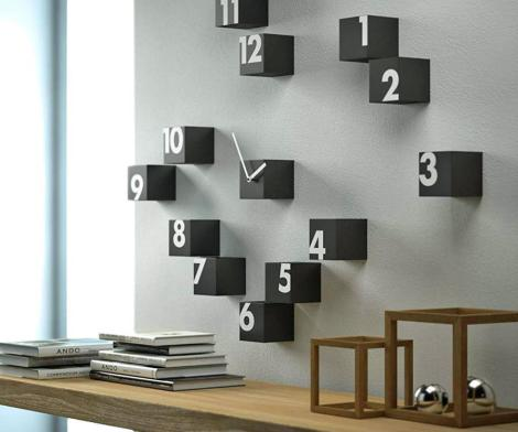 RND_TIME: A Scattered Numbers Wall Clock