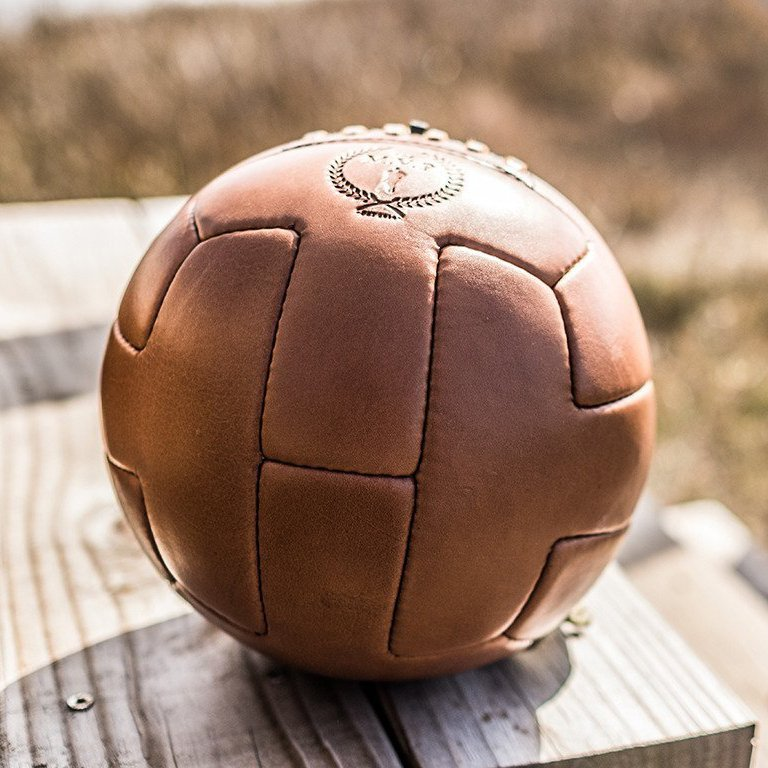 Deluxe Genuine Leather T Soccer Ball