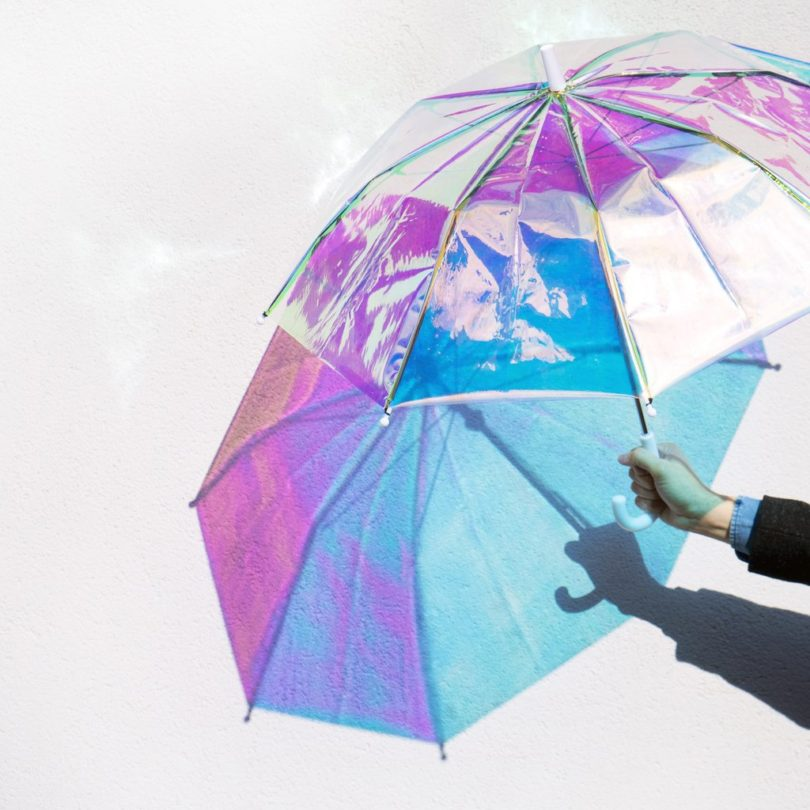 Personalized Holo Umbrella with Dupont Teflon Technology
