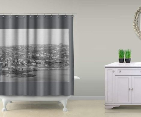 Fremont and Wallingford Shower Curtain