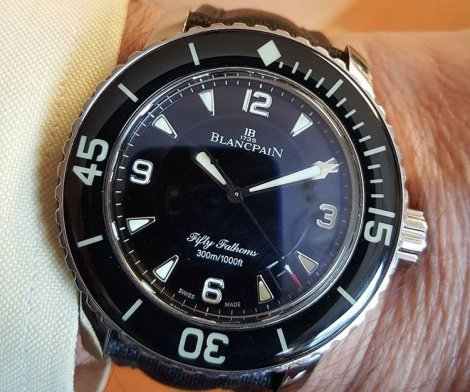 Blancpain Fifty Fathoms Automatic Watch