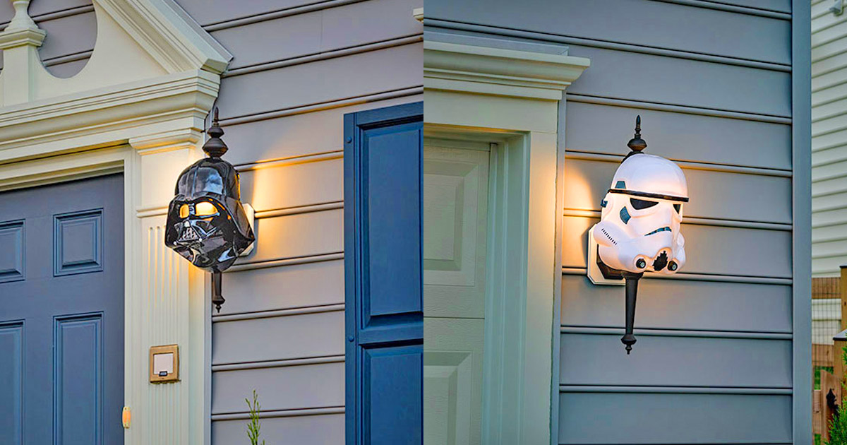 Star Wars Darth Vader Exterior Light Cover