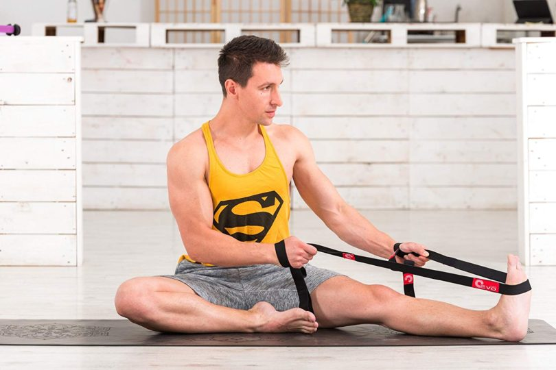 Powerspin Yoga Strap for Stretching