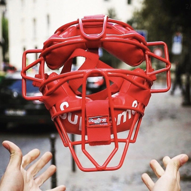 Supreme Rawlings Catchers Mask
