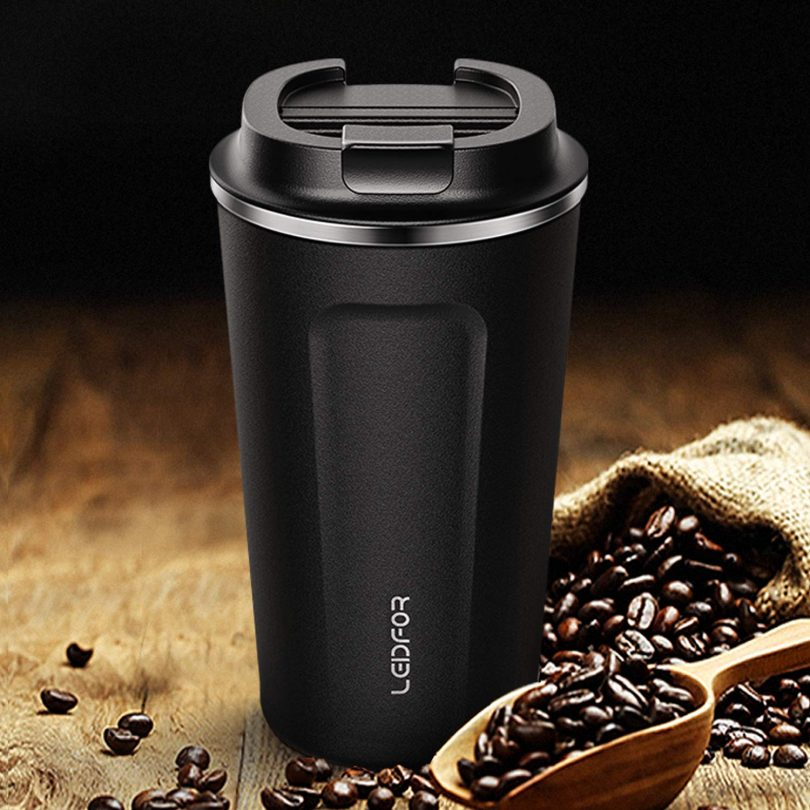Leidfor Insulated Tumbler Coffee Travel Mug