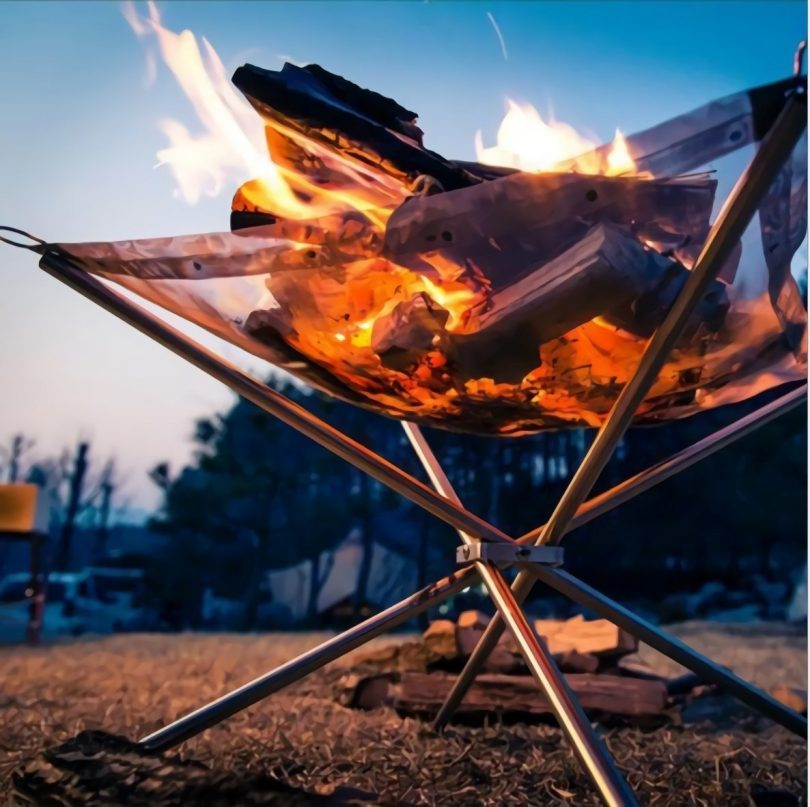 Portable Outdoor Fire Pit for Camping