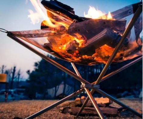Portable Outdoor Firepit
