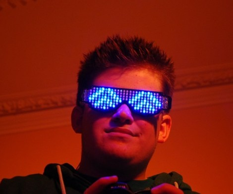 Bluetooth LED Light Up Glasses