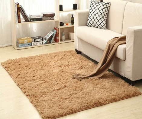Fluffy Soft Faux Non-Slip Floor Carpet