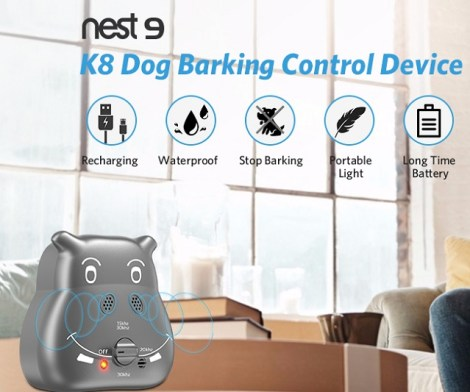Waterproof Ultrasonic Anti Barking Device