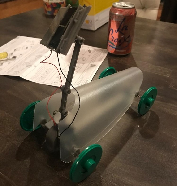 Solar Powered Rover Kit: DIY  Stem Toy