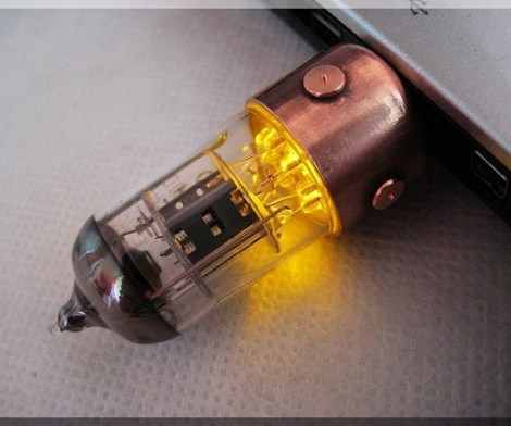 Steampunk Pentode USB Flash Drive