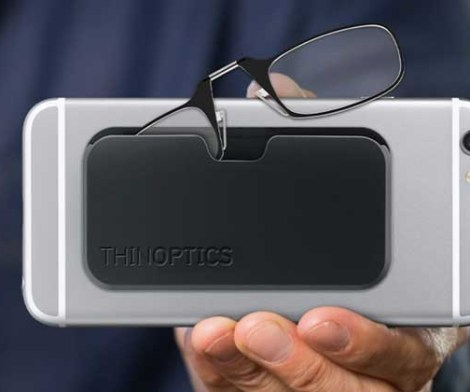 ThinOptics Reading Glasses with iPhone 11 Slimline Case