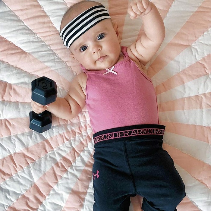 Fred Buff Baby Dumbbell Rattle
