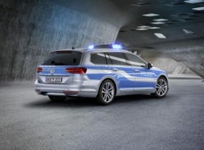 Polizei_Passat GTE_hinten