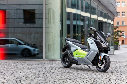 BMW C evolution silber