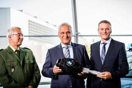 Innenminister Herrmann BMW Welt