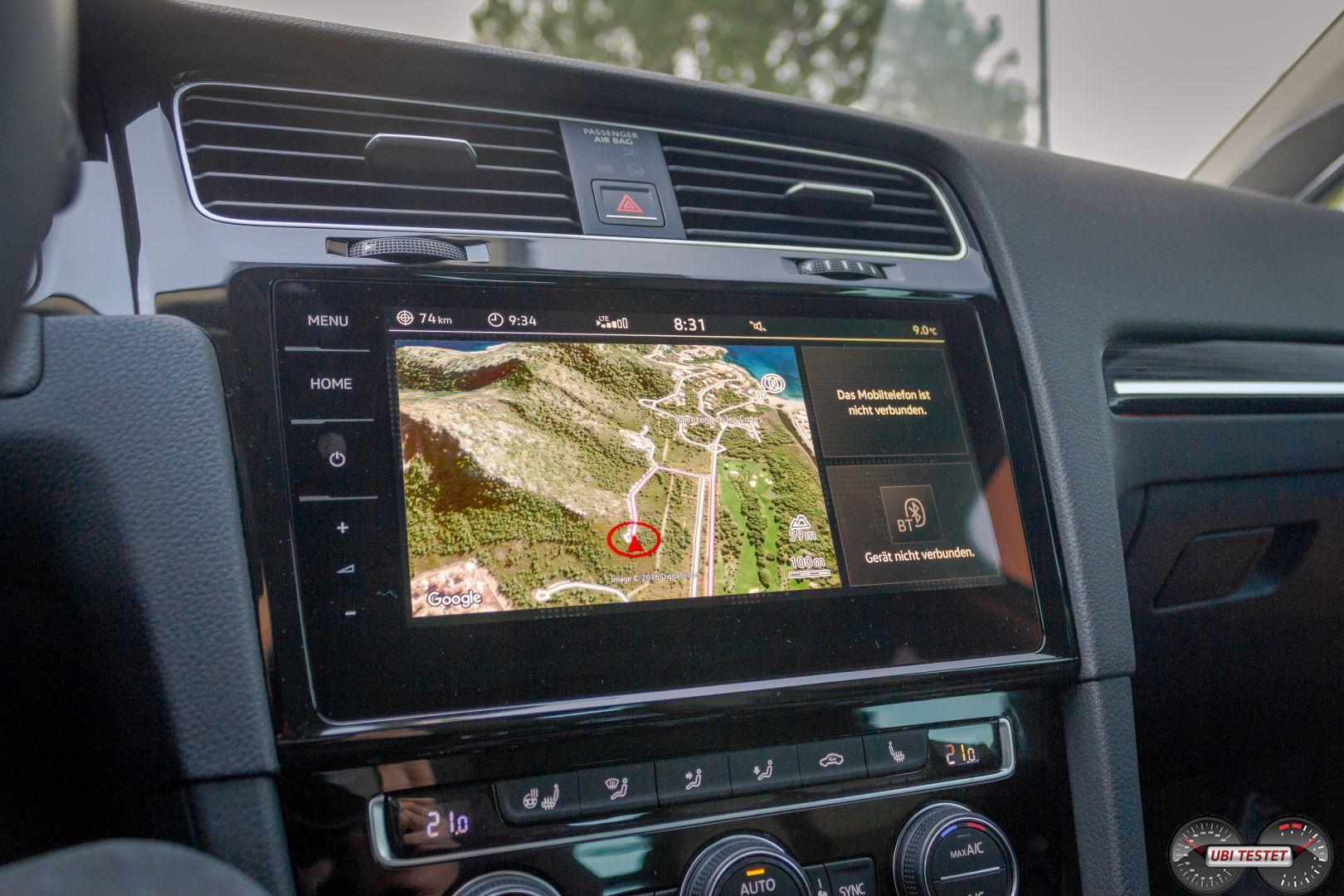 VW Golf Discover Pro 2017-2 — Ubi Testet