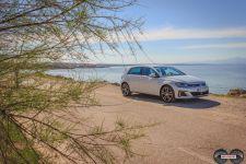 Frontansicht VW Golf GTE 2017