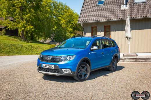 Dacia Logan MCV Stepway 2017 blau metallic