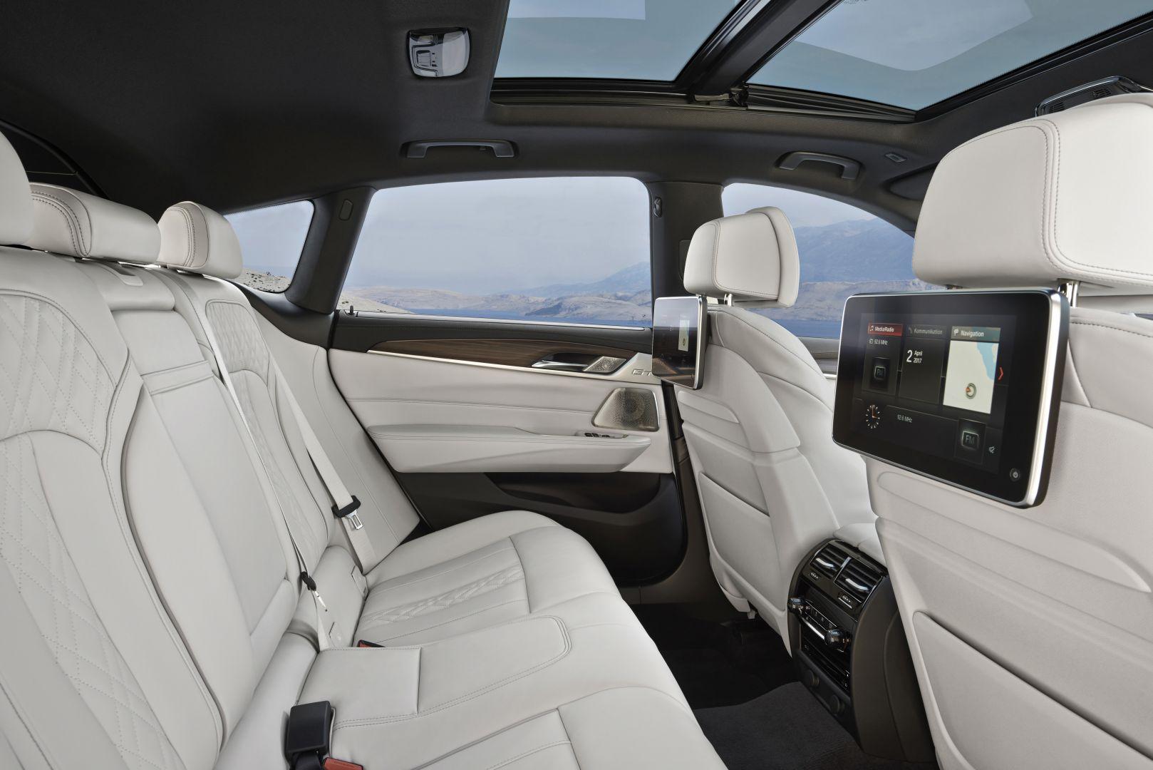 BMW 6er GT Fond
