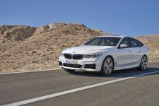 BMW 6er Gran Turismo M Sportpaket Mineralweiß