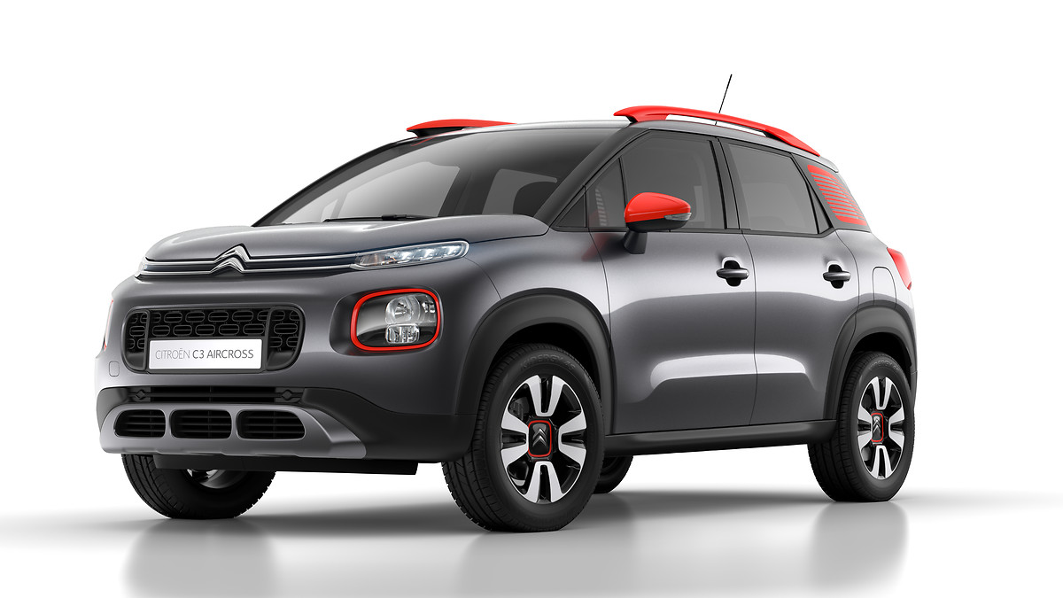 citroen suv c3 aircross 2018 ubi testet. Black Bedroom Furniture Sets. Home Design Ideas