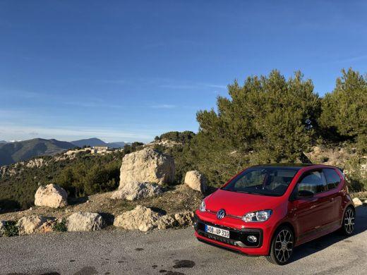 VW Up! GTI 2018 rot/schwarz