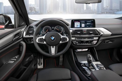 Innenraum BMW X4 2018