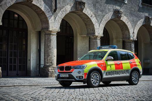 BMW X3 Kindernotarzt