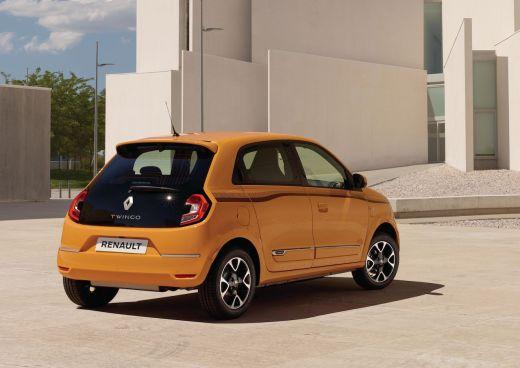 Renault Twingo Mango Gelb