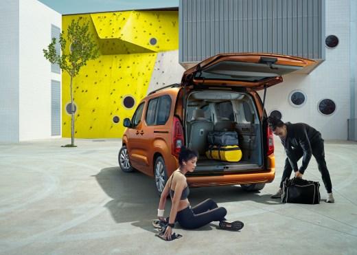 Opel Combo e-Life Kofferraum 2021